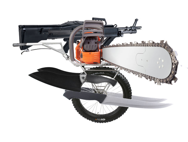 Multi-Purpose Zombie Massacre Cart