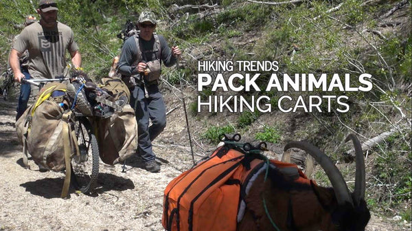 pack goats and backpacking carts