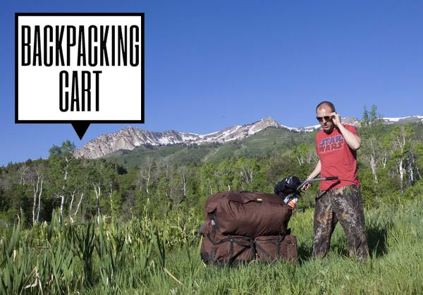 backpacking cart