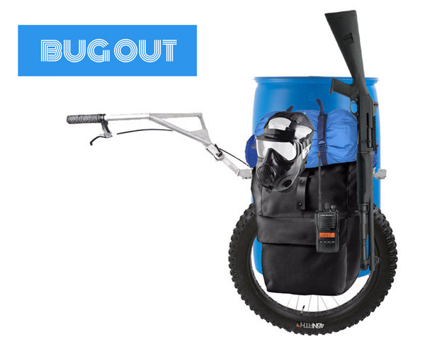 prepper cart bug out cart