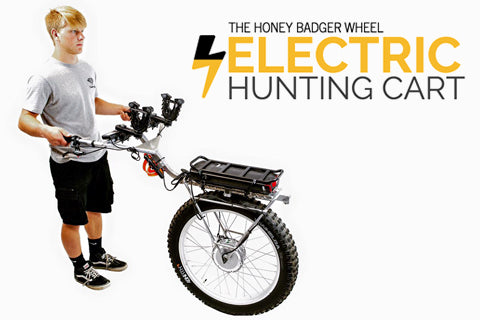 honey badger wheel electric hunting carts