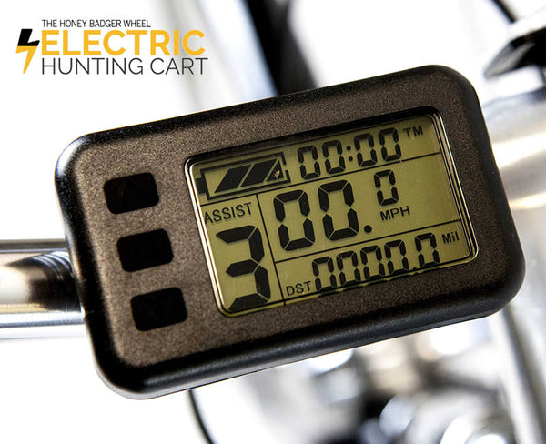 electric hunting cart computer