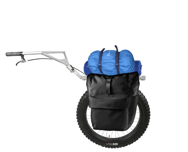 hiking cart for wheelpacking