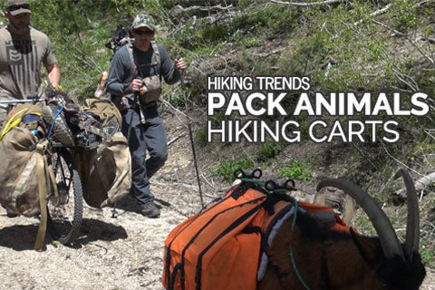 hiking carts and pack goats