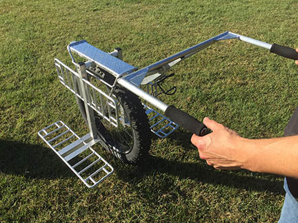 prepper cart for bug out bags