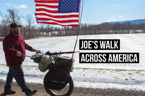 Joe walks to end 22 veteran suicides per day