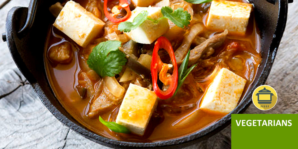 Pantry Boy Slow Cooker Tofu