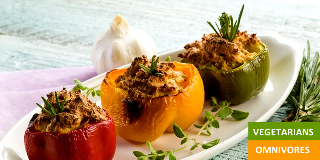 Pantry Boy Stuffed Bell Peppers