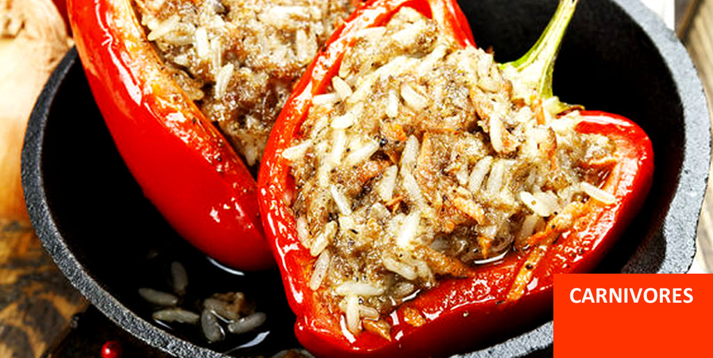Pantry Boy Stuffed Peppers