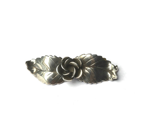 Vintage Swedish Silver Brooch by Pinco Förening at hurdyburdy Mid Century Jewellery