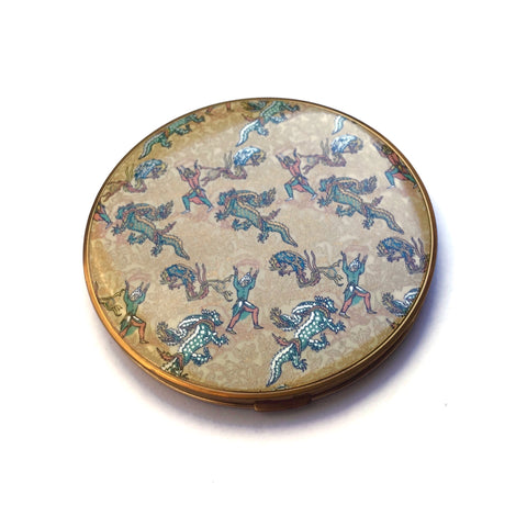 1940's Vogue Vanities Persian Legend Powder Compact