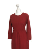 Classic 1950's Wool Day Dress