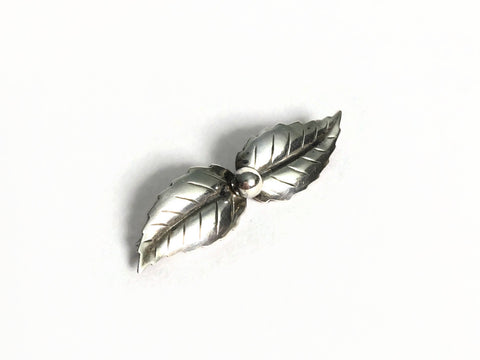 Danish Silver Brooch By John L. Lauritzen at hurdyburdy vintage