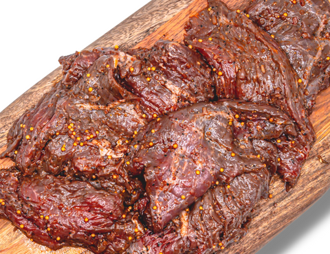 HOUSE MARINATED BISON TIPS