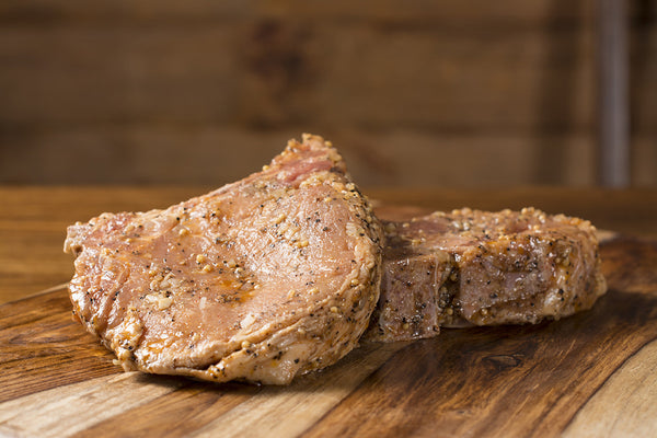 House Marinated Bone-In Pork Chops