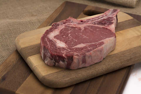 Tuckaway's Black Hide Angus Bone-In Ribeye Steak