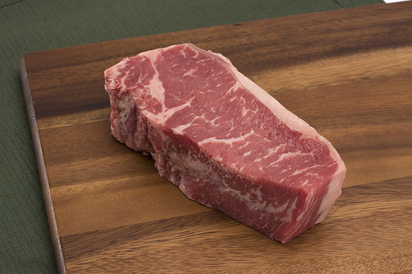 Tuckaway's Black Hide Angus NY Strip Steak
