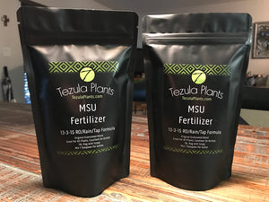 MSU Fertilizer: 13-3-15 - For Tap Water, RO & Rain Water - FREE SHIPPING - Manufactured by Greencare