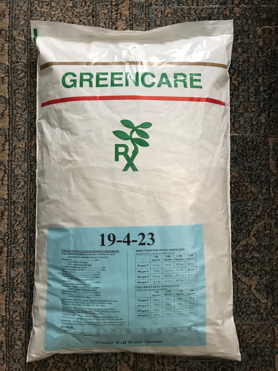 MSU Fertilizer - 19-4-23 - Well Water Blend - FREE SHIPPING