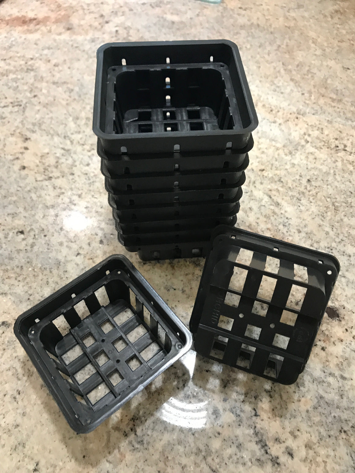 Plastic Orchid Baskets - 3.5""