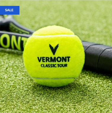New for 2020 The Vermont Classic Tour Tennis Ball