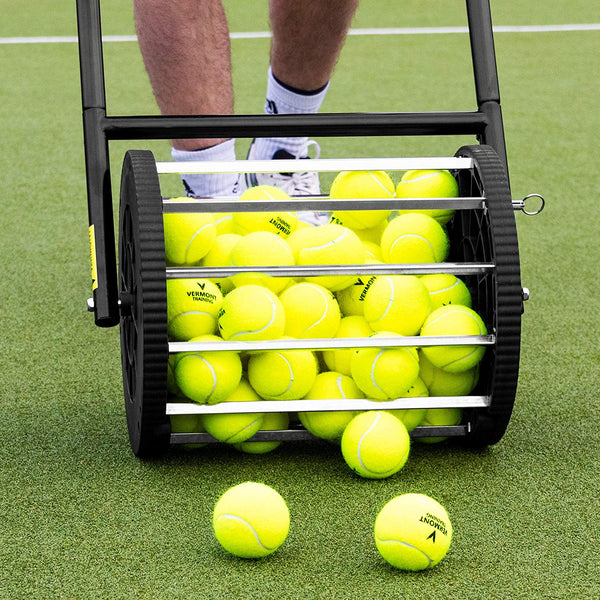Vermont Tennis Ball Mower & Hopper - 85 Ball Capacity (includes shipping)