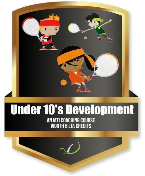 Under 10s Development Confidence & Control - Tennis Education Course - further discount available when you join MTI