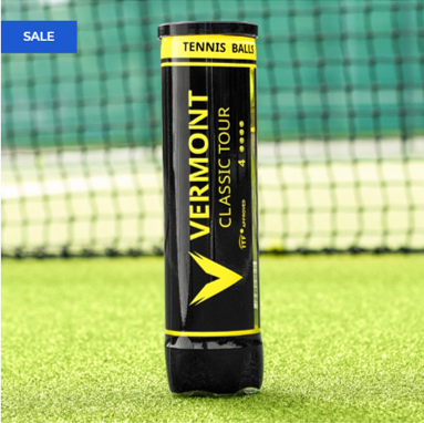 Vermont Classic Tour Tennis Balls - Includes Free Shipping