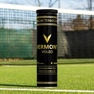 VERMONT VOLEO TENNIS BALLS - The ITF Approved Tournament Ball - Includes Free Shipping