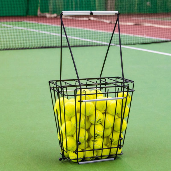 Vermont Tennis Ball Basket & Hopper - 72 Ball Capacity (Includes shipping)
