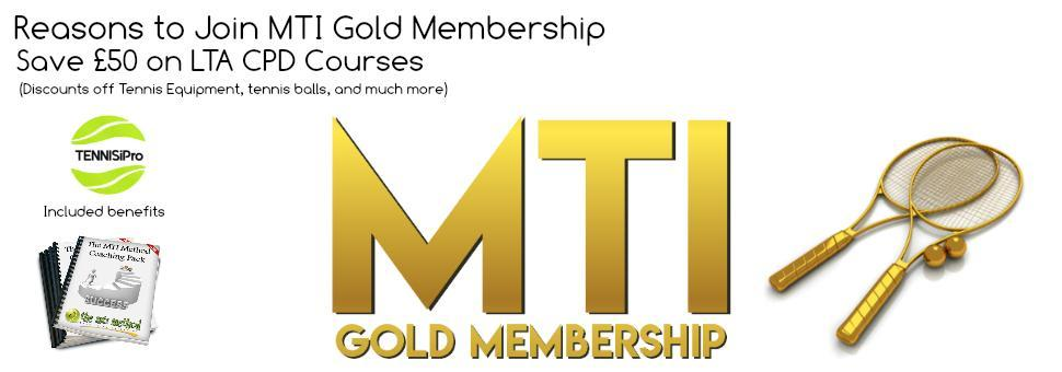 Join MTI Gold Membership