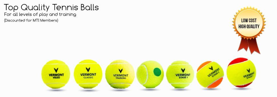 Buy Discounted Tennis Balls and Equipment
