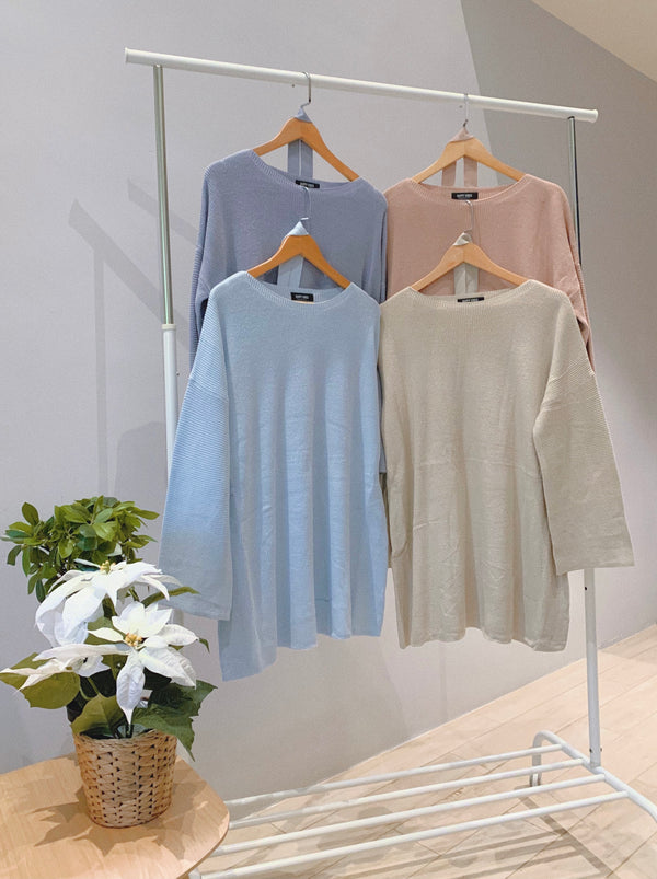 Bella Long Pullover