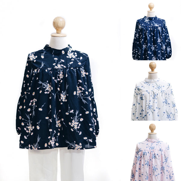 Printed Doll Top - Baby Flower