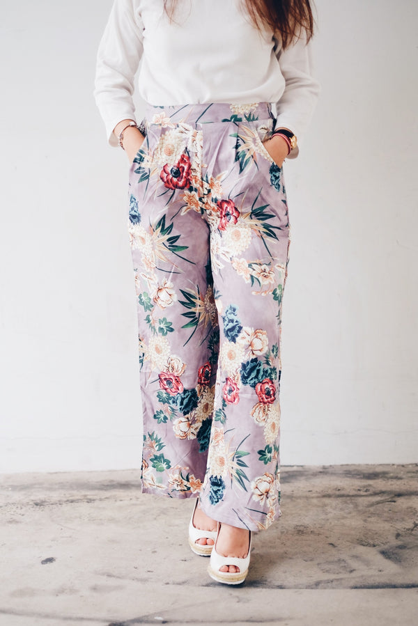 Printed Culottes Pants