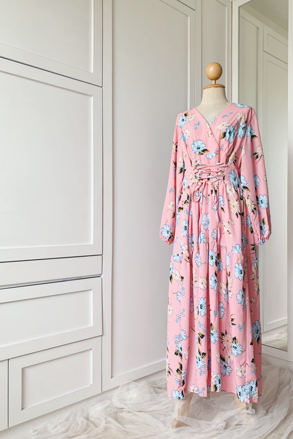Pretty Floral Dress - Laila