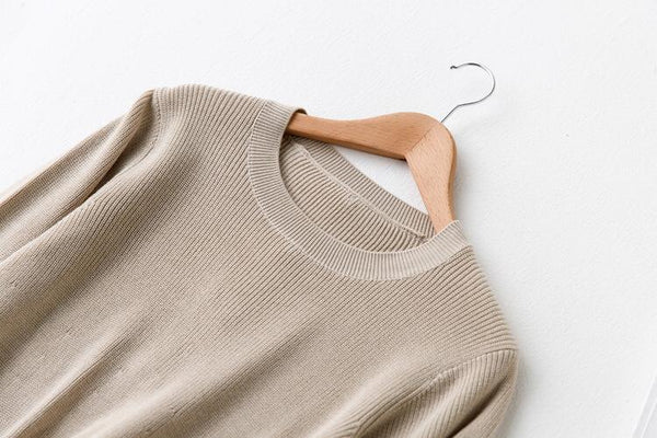 Zella Knitted Long Pullover