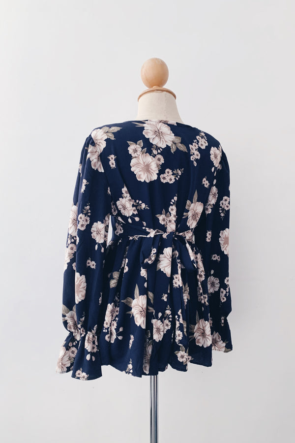 Dolly top - Floral Pulp
