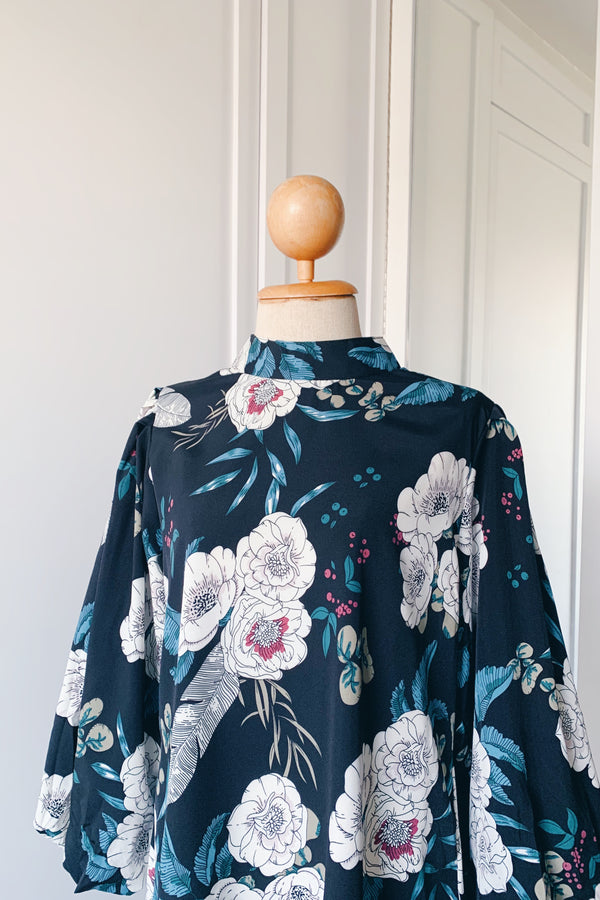 Balloon Sleeve Blouse - Maina