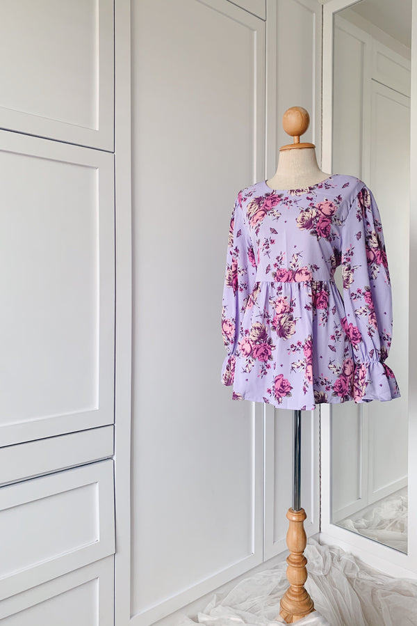 Dolly top - Fusion Floral