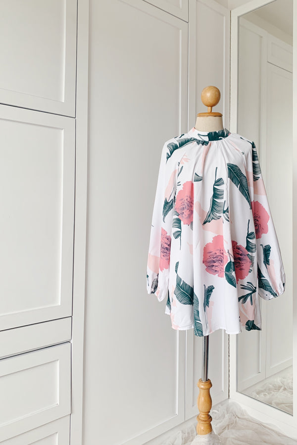 Printed Long Top - Petra