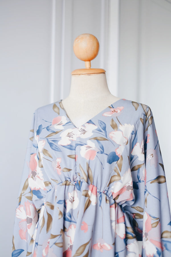 Gathered Kimono Top - Raina