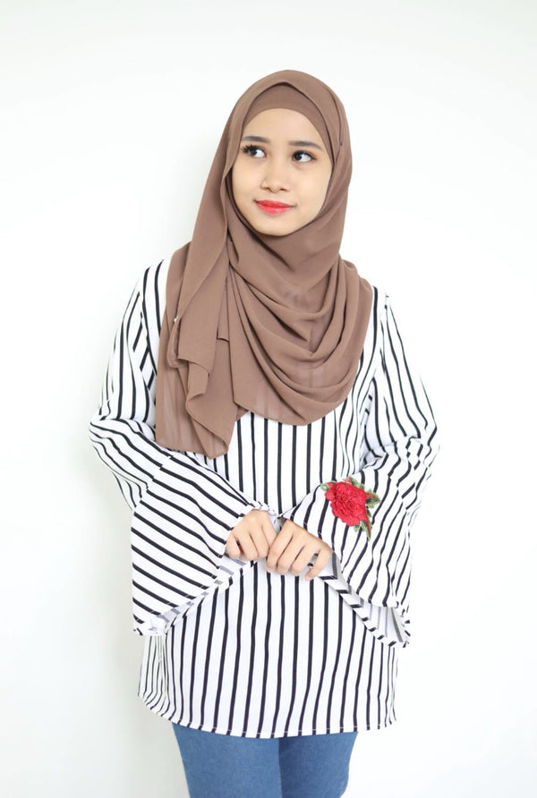 Rose Stripe Top