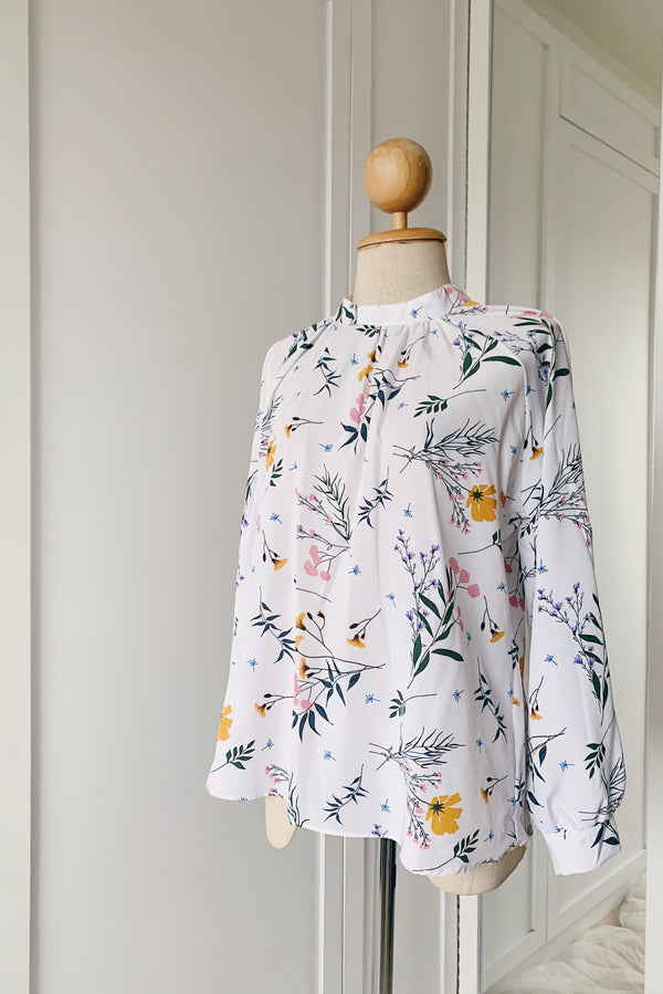 Printed Raglan Sleeve -  Soft Joy