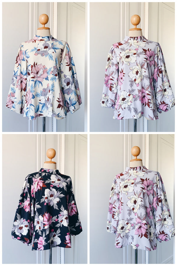 Balloon Sleeve Blouse - Parkson