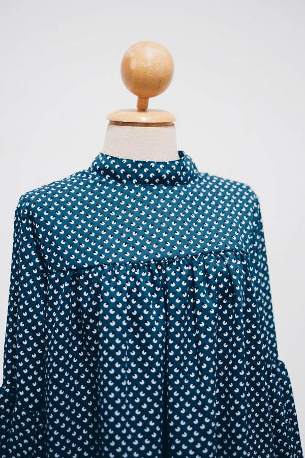 Printed Doll Top - Pie