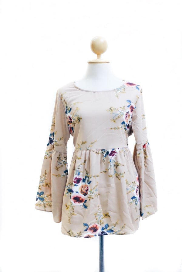 BabyDoll Dress - Butterflower