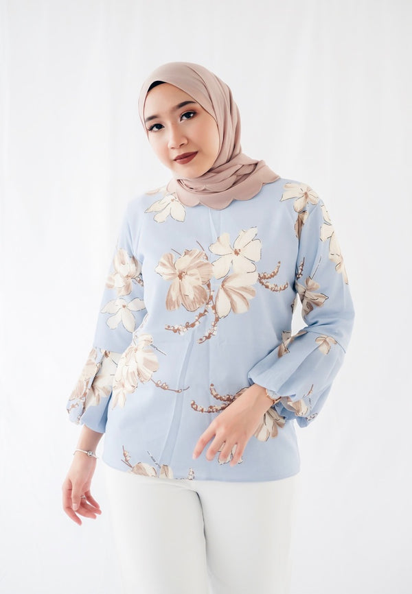 Printed Doll Top - Azalea (Mermaid)