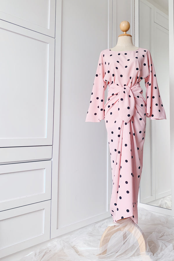 Fairy Maxi Dress - Polka Dots