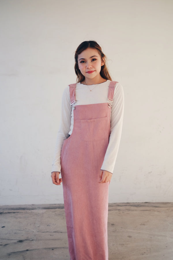 Plain Maxi Pinafore